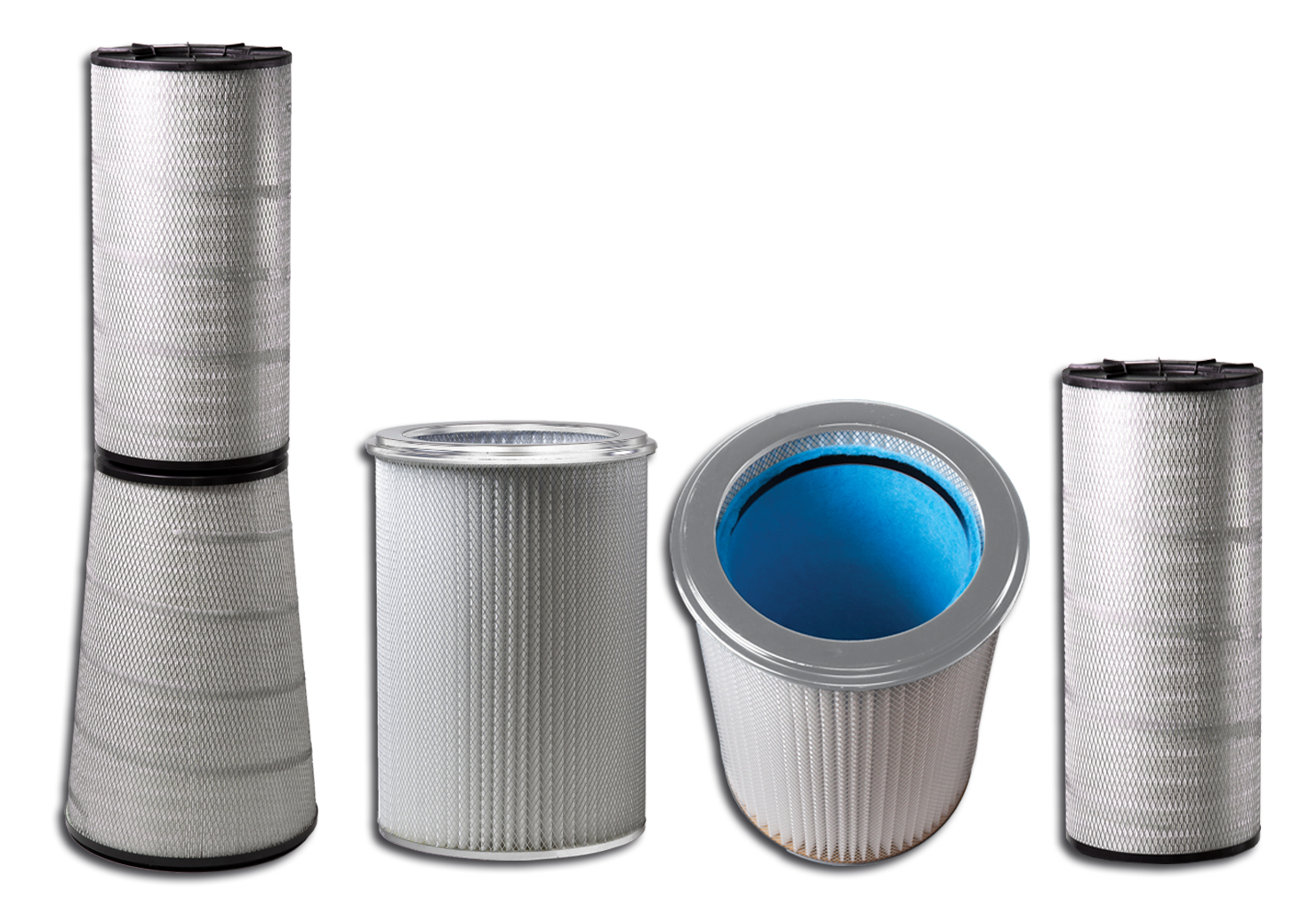 Set of Different Cartridge Filters