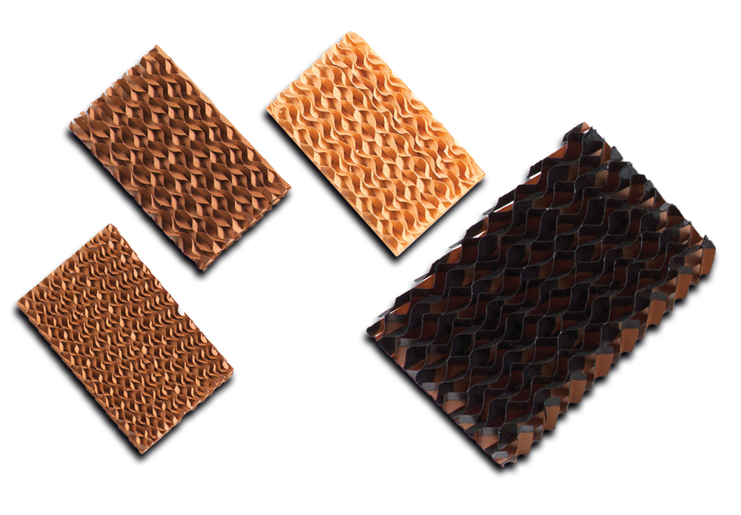 Examples of Evaporative Cooling Pads