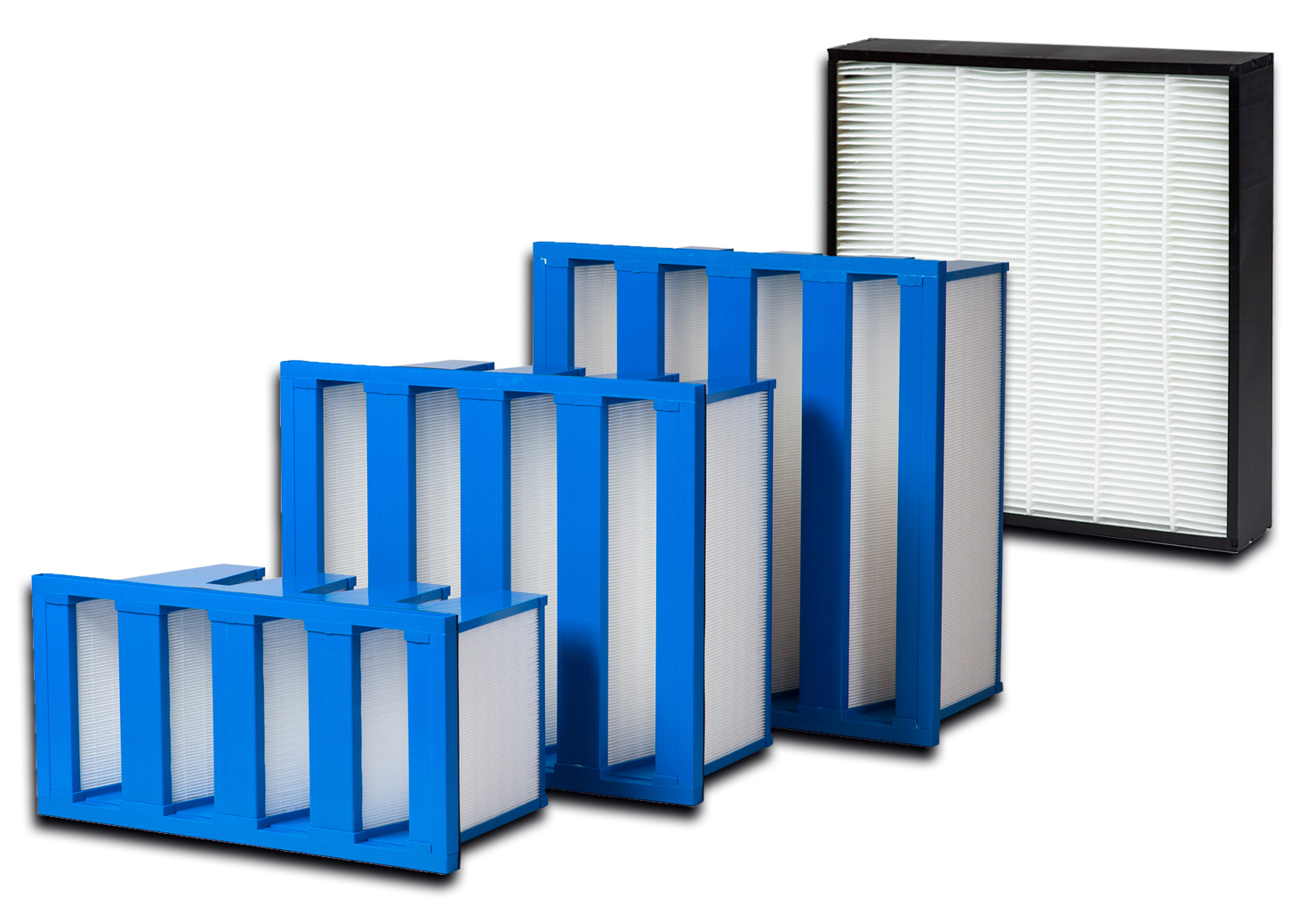 High Efficiency Mini-Pleated Filters